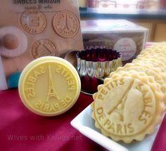 Paris stamped Cookies-ooh la la!! www.MadamPaloozaEmporium.com www.facebook.com/MadamPalooza
