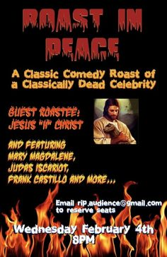 'Roast in Peace' for FREE This Wednesday 2.4 at Westside Comedy