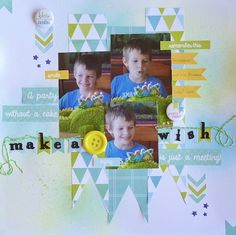 Pop Layouts, Scrapbooking, Pop, Frame, Party, Ideas, Decor, Picture Frame, Popular