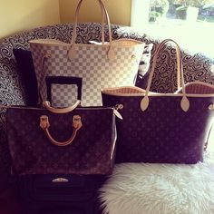 Louis Vuitton never Full! And never too many bags!!!