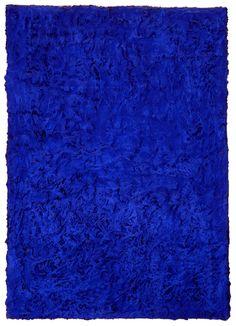 Yves Klein, Monochrome Bleu Sans Titre (IKB 46), 1955.