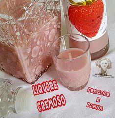liquore cremoso fragole e panna