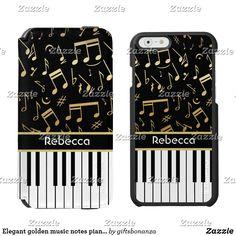 Elegant golden music