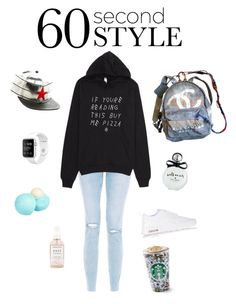 """""""Untitled #13"""" by georgiafaithsetiawan06 ❤ liked on Polyvore featuring New Look, NIKE, Kate Spade, Chanel, River Island, Herbivore Botanicals, men's fashion, menswear, DRAKE and views"""