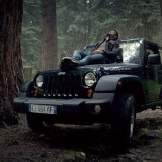 wow, a hot man on a Jeep? Oh I'll take that one!