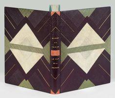 GILBERT DE VOISINS (Auguste)    Le Bar de la Fourche. Paris, L'Artisan du Livre, 1928.   Binding:  J. Anthoine-Legrain