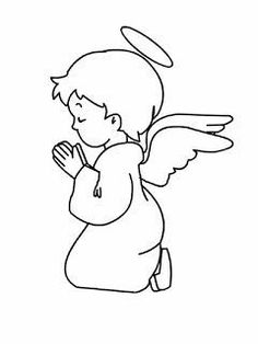Angel Drawing, Baby Drawing, Christmas Colors, Christmas Art, Christmas Crafts, Christmas Decorations, Christmas Stencils, Christmas Drawing, Christmas Coloring Pages