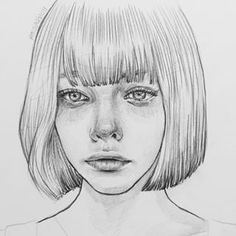 Drawing Faces Girl Sad Illustrations 46 Ideas For 2019 Sad Sketches, Sad Drawings, Pencil Art Drawings, Realistic Drawings, Drawing Faces, Horse Drawings, Portrait Au Crayon, Pencil Portrait, Face Sketch