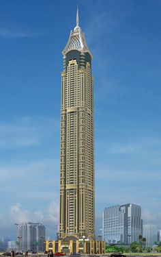 23rd tallest building in the world - Elite Residence - Dubai, 1,247 ft with 91 floors, and built in 2012