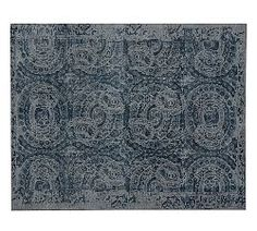 Contemporary Rugs & Contemporary Area Rugs | Pottery Barn guest room. lovely and soft in person