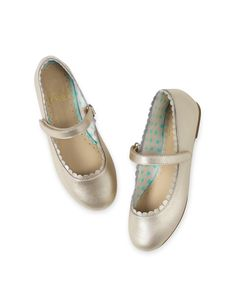 Scalloped Mary Janes 39146 Shoes & Boots at Boden