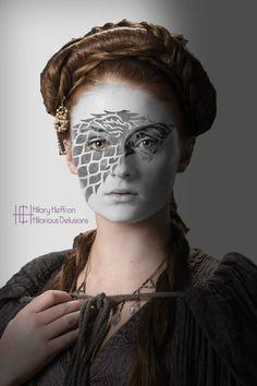 Sansa Stark by Hilary Heffron - Hilarious Delusions