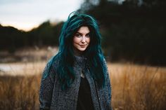 Pin for Later: These Dark Green Hair Ideas Will Make You Crave a Moody Mane