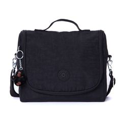 Kichirou Lunch Bag - Black | Kipling