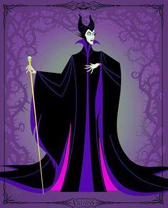 Maleficent, she was the best evil Disney villain when I was growing up Evil Disney, Dark Disney, Disney Magic, Aurora Disney, Disney Princess Tattoo, Punk Princess, Tattoo Disney, Disney Fan Art, Disney Love