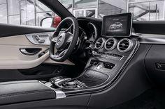 Intérieur Mercedes Classe C Coupé 2015