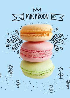 Macaron | Urlaubsgrüße | Echte Postkarten online versenden | MyPostcard.com
