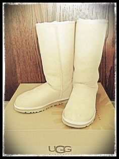 Perfect weather to put on my new Uggs