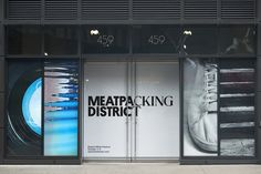 Reviewed: New Logo and Identity for the Meatpacking District by Base