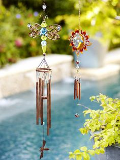 Enchant guests with some dazzling windchimes