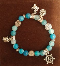 Brand new handmade bracelet ..price 22CAD includes shipping within canada..5 $ applies for usa shipping papal only accepted Ankle Bracelets, Handmade Bracelets, Jewelry Crafts, Turquoise Bracelet, Canada, Charmed, Cleopatra, Usa, Jewellery