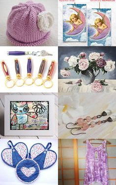 WONDERFUL PASTELS AND MORE ....... Enjoy! by Cappriell McQuiston on Etsy--Pinned with TreasuryPin.com