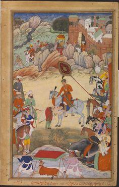 Adham Khan pays homage to Akbar at Sarangpur