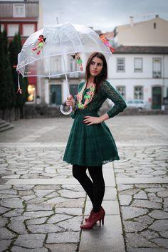 J`adore le collier and parapluie