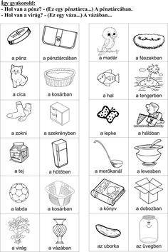 Készségfejlesztés otthon. Nyomtatható feladatlapok ovisoknak, kisiskolásoknak | Szépítők Magazin Activities For Autistic Children, Brain Gym, Worksheets For Kids, Speech Therapy, Word Search, Math, Google, Adhd Kids, Toddler Activities