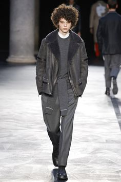 Neil Barrettpresented its Fall/Winter 2017 collection during Milan Fashion Week.