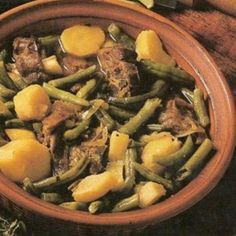 Green Bean Bredie in South African Recipes South African Dishes, South African Recipes, Ethnic Recipes, Africa Recipes, Lamb Recipes, Curry Recipes, Cooking Recipes, Oxtail Recipes, Kitchen Recipes