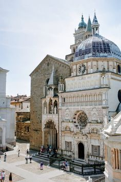 Italy, Colleoni Chapel / Bergamo Beautiful Medieval Town.