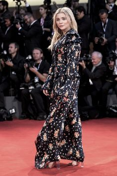 The Venice Film Festival has drawn to a close, and this year, the stylish event put every other red carpet to shame. From Lady Gaga's incredible feathered Red Carpet Event, Chloe Grace Moretz, Hollywood Stars, Film Festival, Spotlight, Beautiful People, Gothic, Gowns, Actresses