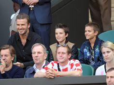 David, Cruz, and Romeo Beckham