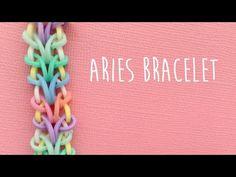 Rainbow Loom Bands Aries Bracelet Tutorial - YouTube