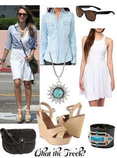 What the Frock? - Affordable Fashion Tips and Trends: Celebrity Look for Less: Jessica Alba Style