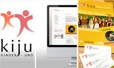vivia: Corporate Design, Branding, Internetauftritt und Druckmedien für die Kinder- und Jugendstiftung Hennef KIJU