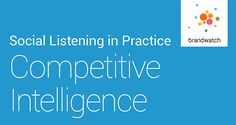 Brandwatch's New Guide on Competitive Intelligence