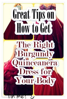 Burgundy Quinceanera dress - Quinceanera is a tradition that initially arrived out of the Latin America, and also it stands for the Girl's transformation from a kid to an adolescent. Burgundy Quinceanera Dresses, Latin America, Our Girl, Fashion Show, How To Memorize Things, Kid, Princess, Style, Child
