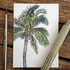 альтернатива, искусство, круто, рисунок, гранж, пальма