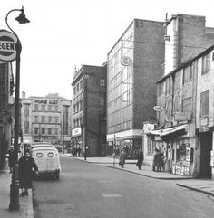 Broad Marsh, Nottingham, c Nottingham Station, Nottingham City Centre, Nottingham Uk, Historical Pictures, Vintage Photographs, Old Photos, Past, England, Street View