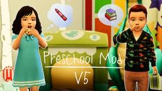 Lana CC Finds Preschool MOD by kawaiistacie (Sims This mod allows toddlers to go to school. The motive behind this mod is to keep the toddlers away for a few hours. This will give the stay-at-home parents a. Sims Mods, Sims 4 Game Mods, The Sims, Sims Cc, Sims Baby, Sims 4 Toddler, Tips And Tricks, Sims 4 Game Packs, Mississippi
