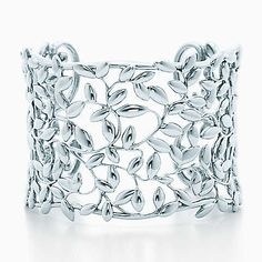 Bracelete Olive Leaf de Paloma Picasso™ em prata de lei, médio.