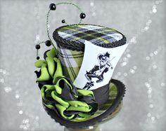Green Mini Top Hat St-Patricks Day Hat Mini by LittleMissHattitude