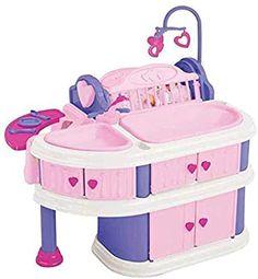 Baby Dolls For Kids, Little Girl Toys, Toys For Girls, Kids Toys, Toddler Toys, Baby Doll Nursery, Nursery Toys, Barbie Doll Set, Baby Alive Dolls