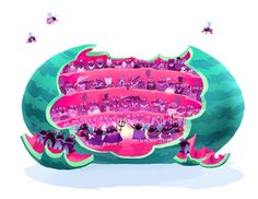Flies at the Opera on Behance