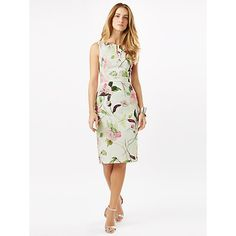 Buy Phase Eight Lizzy Floral Dress, Ivory/Multi Online at johnlewis.com