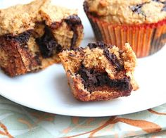 Peanut Butter Chocolate Chip Muffins (Low Carb and Gluten Free) | All Day I Dream About Food