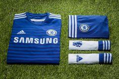 a6bcea471d adidas Unveils Chelsea FC s New 2014 15 Home Kit
