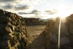 Monte Alban. Contraluz